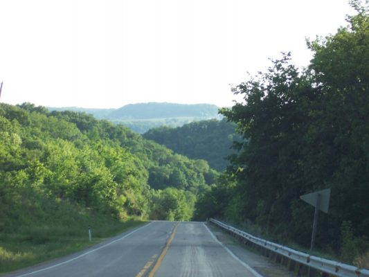 Highway 133 near Cassville