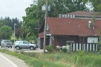 Crystal Creek Cheese House along Highway 33