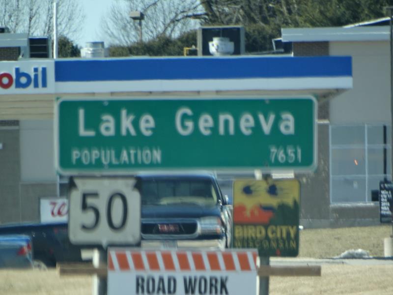 Wisconsin Highway 50 - Kenosha to Delavan   State Trunk Tour