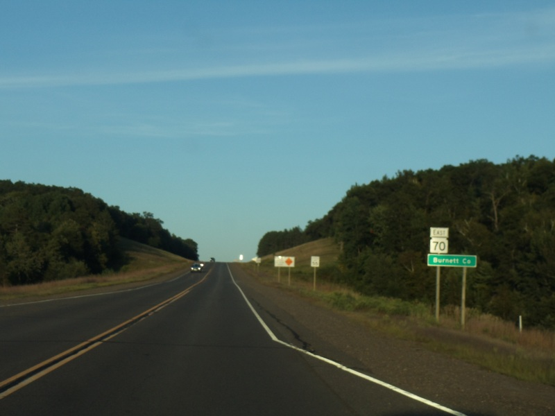 Wisconsin Highway 70 Road Trip - The North Woods - State