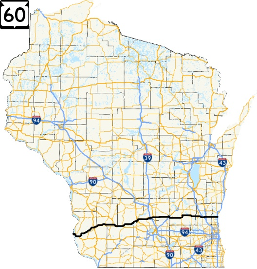 60 | State Trunk Tour | Pick some roads and GO!! Caves In Wisconsin Map on