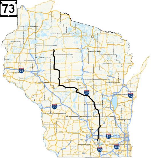 Wisconsin Highway 73 Road Trip   Meandering Wisconsin ... on wisconsin altitude map, wisconsin reservation map, wisconsin state highway map, wisconsin zone map, wisconsin detours map, wisconsin hwy map, wisconsin road map,