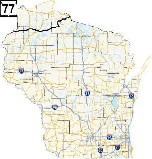 Wisconsin Highway 77 Road Trip Jack LinksHaywardHurley STT
