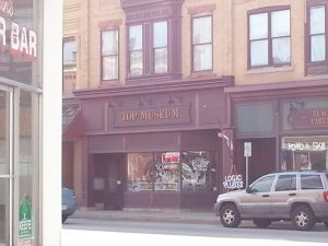 The Top Museum in downtown Burlington.