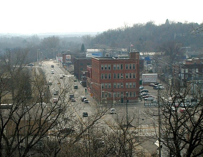 Downtown Chippewa Falls