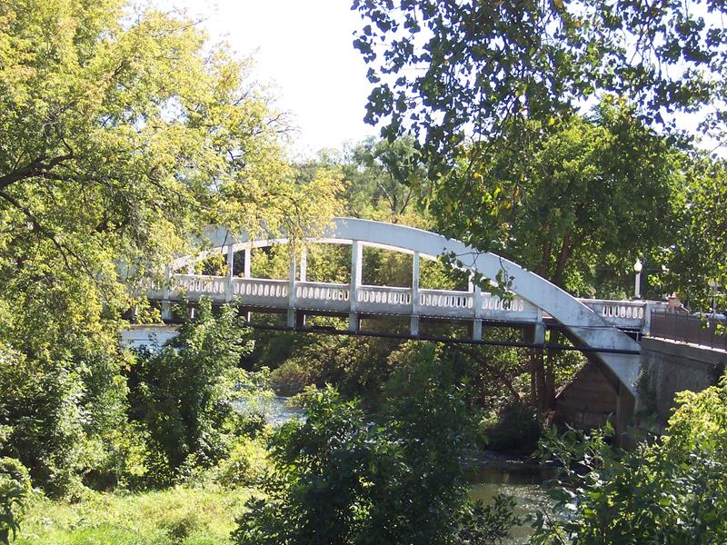 Chippewa Falls Sesquicentennial - Wood Arch Bridge