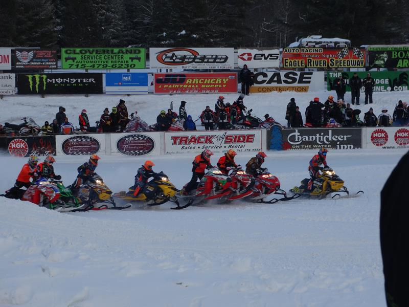 Snowmobile Derby, Eagle River