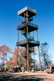 Eagle Tower provides a breathtaking view once you make the 75-foot climb.