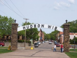 The Arch in Hudson, where Yellowstone Trail Day takes place.