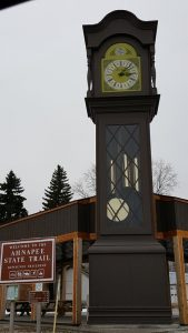 World's Largest Grandfather Clock, along Highway 42 in Kewaunee