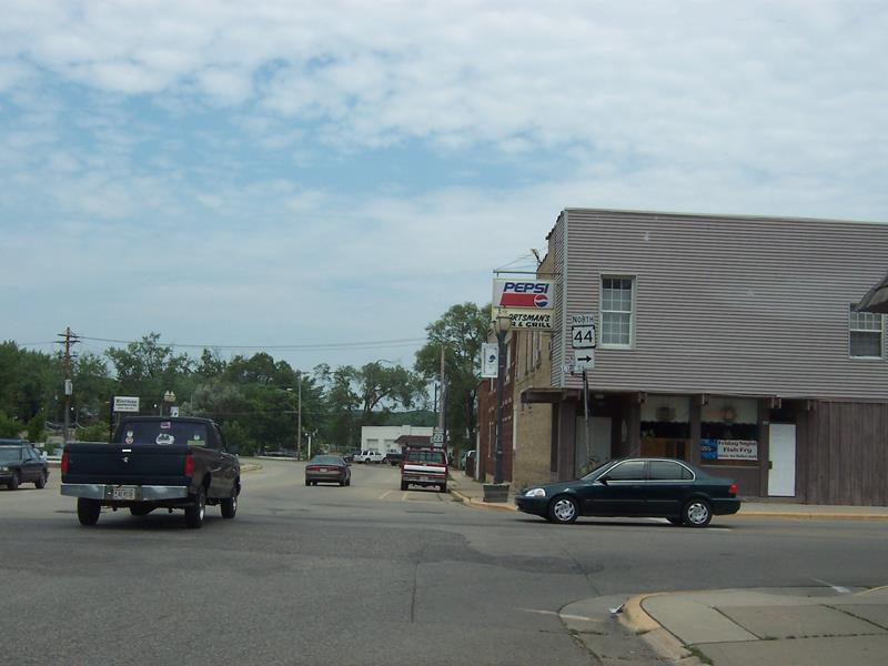 Highway 22 at Highway 44, Pardeeville