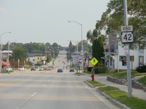 Southbound 42 ends in Sheboygan.