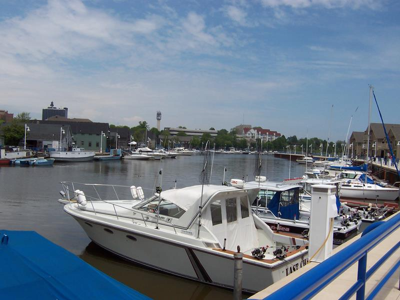 Sheboygan Harbor, near the new City Green