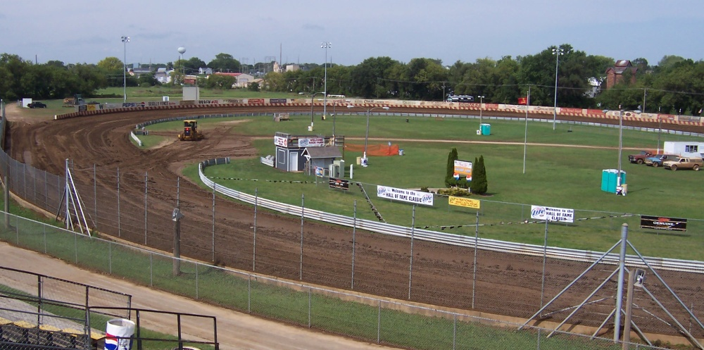 View of Angell Park Speedway