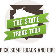 The State Trunk Tour Logo for Wisconsin highways and great trips