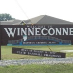 Winneconne welcome sign