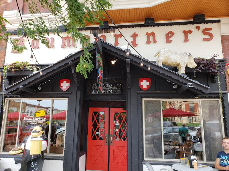 Baumgartner's Cheese Store & Tavern front