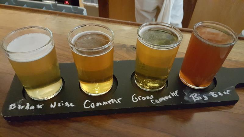 One Barrel Brewing sampler