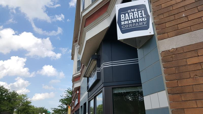 One Barrel Brewing exterior, Madison