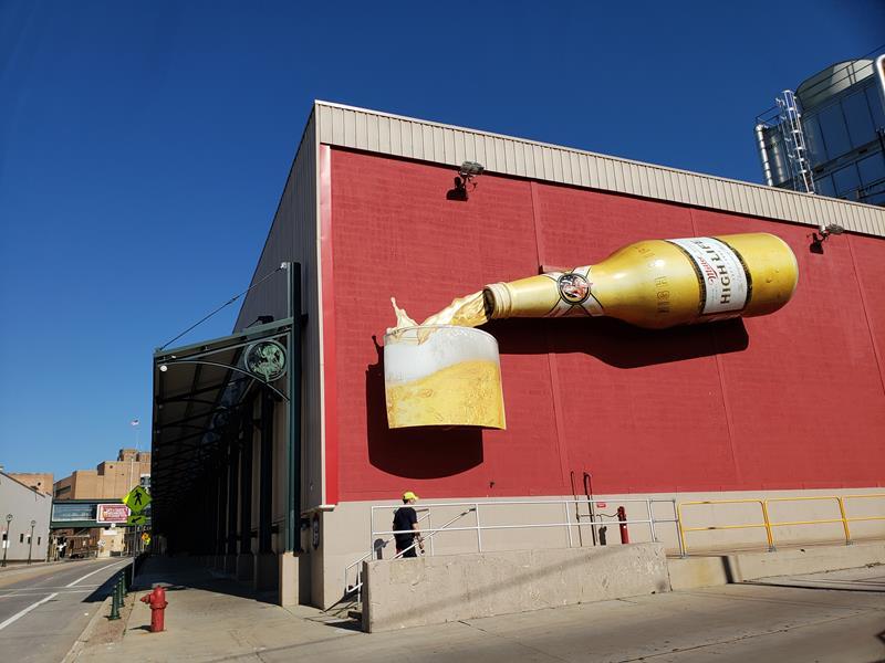Miller Brewery Tour