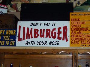 Baumgartner's Limburger sign in Monroe