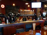 Northwoods Brew Pub front taps