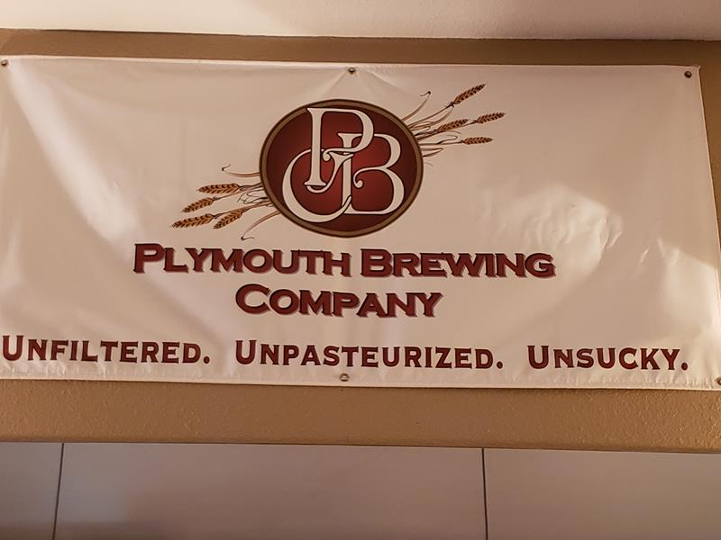 Plymouth Brewing Company slogan