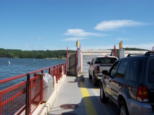 Merrimac Ferry Crossing