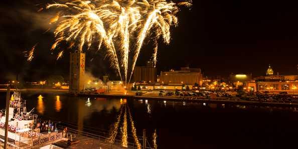 Subfest fireworks