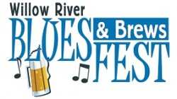 Willow River Blues & Brews Fest Logo
