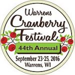 Warrens Cranberry Festival logo