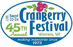 Warrens Cranberry Festival logo 2017