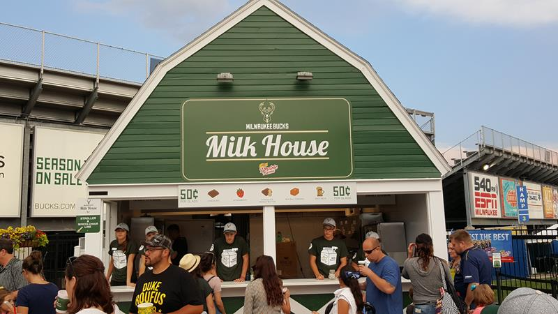 Wisconsin State Fair Milk House