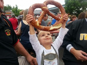 German Fest Pretzel, Milwaukee