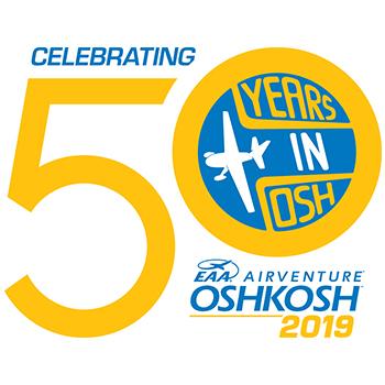 EAA AirVenture 50 year celebration