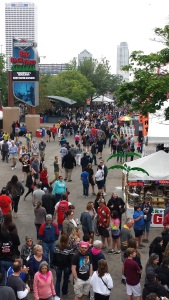 Summerfest 2017 walkways
