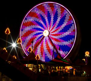 Waukesha County Fair Ferris Wheel