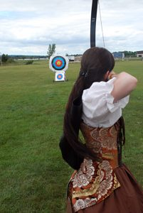 Wisconsin Highland Games, women's longbow competition