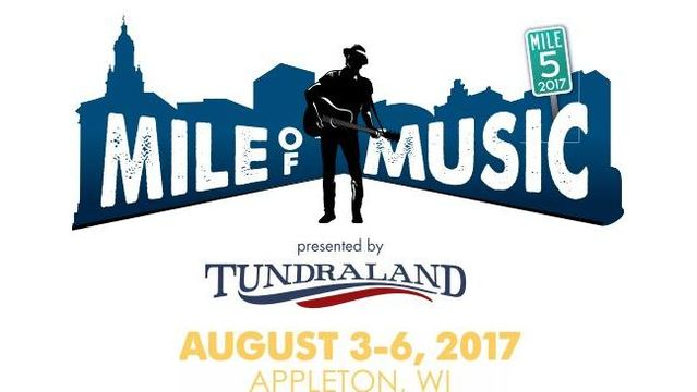 Appleton Mile of Music 2017 logo