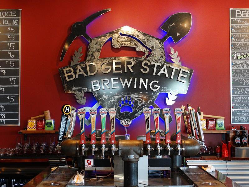 Badger State Brewing Company. Green Bay, Wisconsin