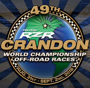 Crandon Off-Road Races logo 2018