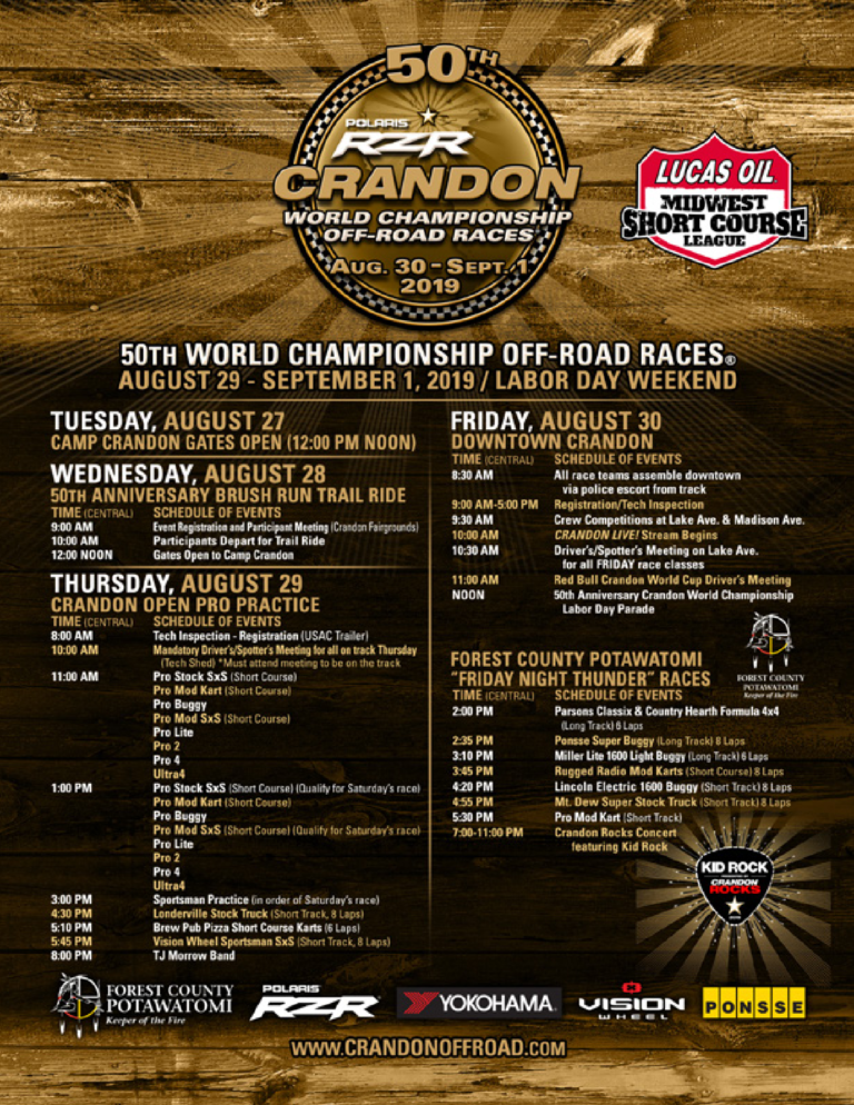 Wisconsin Weekend: Crandon International Raceway Off-Road Races