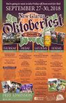 New Glarus Oktoberfest 2018 poster