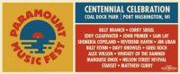 Paramount Music Festival banner