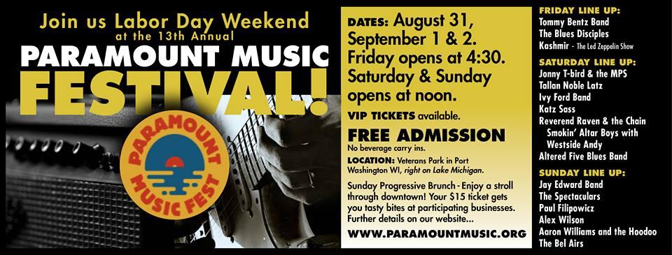 Paramount Music Festival lineup