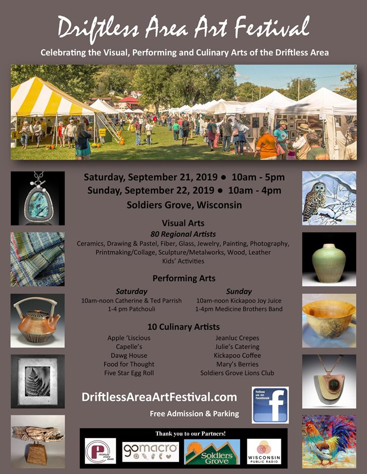 Driftless Area Art Festival, Soldiers Grove
