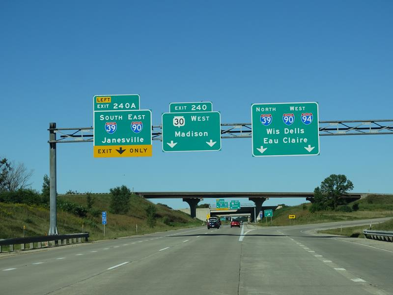 Highway 30 beginning at the Badger Interchange