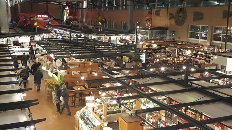 Milwaukee Public Market from the top level