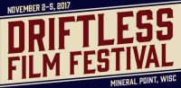 Driftless Area Film Festival logo, 2017