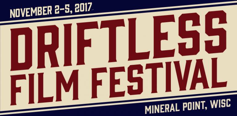 Driftless Area Film Festival logo, 2017